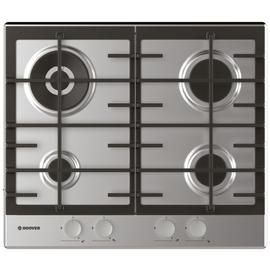 Hoover HHG6BR4MX Gas Hob - Stainless Steel