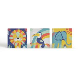 Arthouse Play Set of 3 Kid's Wall Art