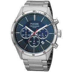 Pulsar Men's Chronograph Stainless Steel Bracelet Watch