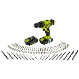 Guild 2.0AH Cordless Impact Drill And 100 Accessories - 18V