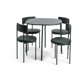 Habitat Jayla Wood Effect Dining Table & 4 Chairs