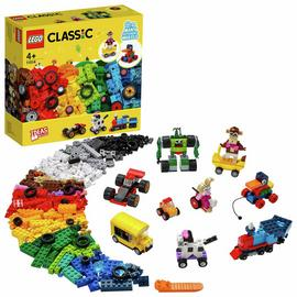 LEGO Classic Bricks and Wheels Starter Building Set 11014