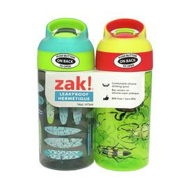 Zak Bugs & Surfboards Bottle - Twin Pack