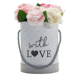 Argos Home Faux Floral Hat Box