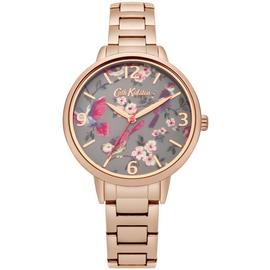 Ladies Cath Kidston British Birds Rose Gold Bracelet Watch CKL001RGM Best Price and Cheapest