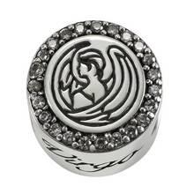 Moon & Back Sterling Silver Zodiac Charm - Virgo