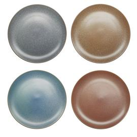 Habitat Roxy Set of 4 Reactive Dinner Plates