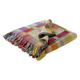 Habitat Edric Wool and Silk Throw - Multicoloured