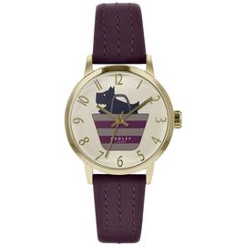 Radley Ladies Purple Leather Strap Watch