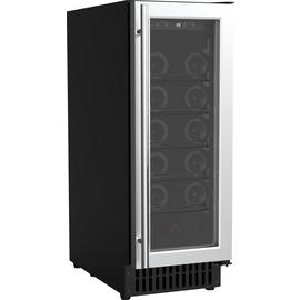 Bush WC18 18 Bottle Wine Cooler - Black