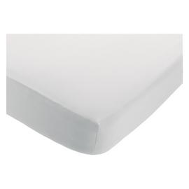 Habitat Linen Fitted Sheet