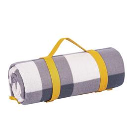 Argos Home Curated Fleece Check Picnic Blanket