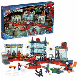 LEGO Marvel Spider-Man Attack on the Spider Lair Set 76175