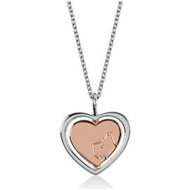 Radley London Stirling Silver Heart Charm Pendant