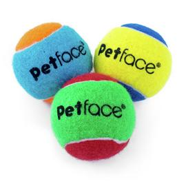 Petface Squeaky Tennis Balls - 20 Pack