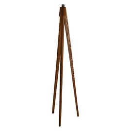 Habitat Tripod Floor Lamp Base - Walnut Stain