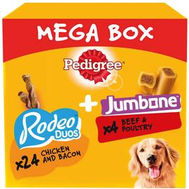 Pedigree Rodeo Duos and Jumbone Mega Box Medium Treats 28