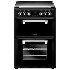 Stoves Richmond 600E 60cm Double Electric Cooker - Black