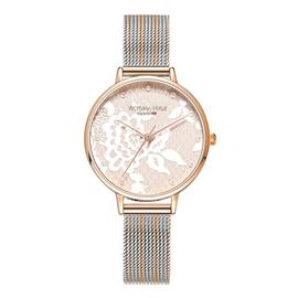 Victoria Hyde Silver Coloured Bracelet Watch
