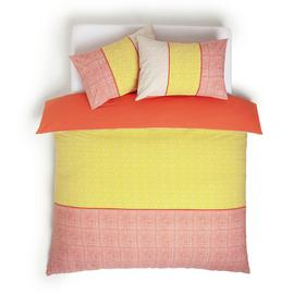 Habitat Markmaking Stripe Reversible Bedding Set