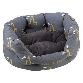 Zoon Giraffe Oval Bed - Medium