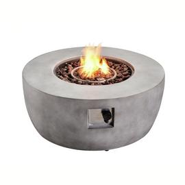 Peaktop HF36501AA UK Gas Fire Pit With Cover