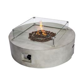 Peaktop HF42408AA UK Gas Fire Pit With Cover