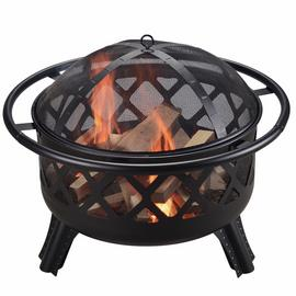 Peaktop CU296 Wood Burning Fire Pit