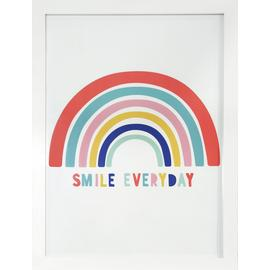 Argos Home Rainbow Wall Art