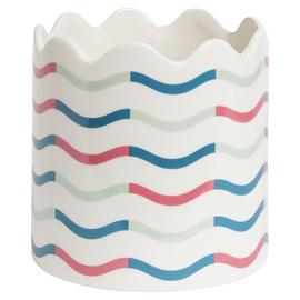 Habitat Novelty Wave Planter - Multicoloured
