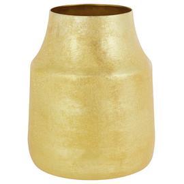 Habitat Solomon Hammered Brass Small Vase