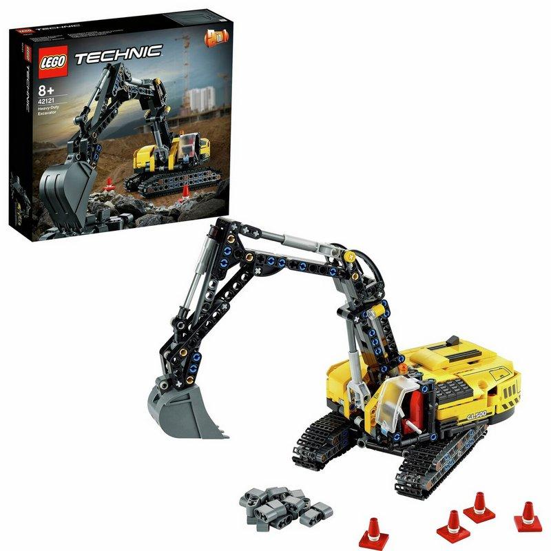 LEGO Technic Heavy Duty Excavator 2 in 1 Building Set 42121 from Argos