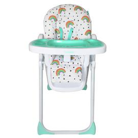 My Babiie Rainbow Print Highchair