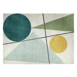 Habitat Forma Wool Rug - 170x240cm - Multicoloured