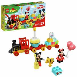LEGO DUPLO Disney Mickey and Minnie Birthday Train Toy 10941