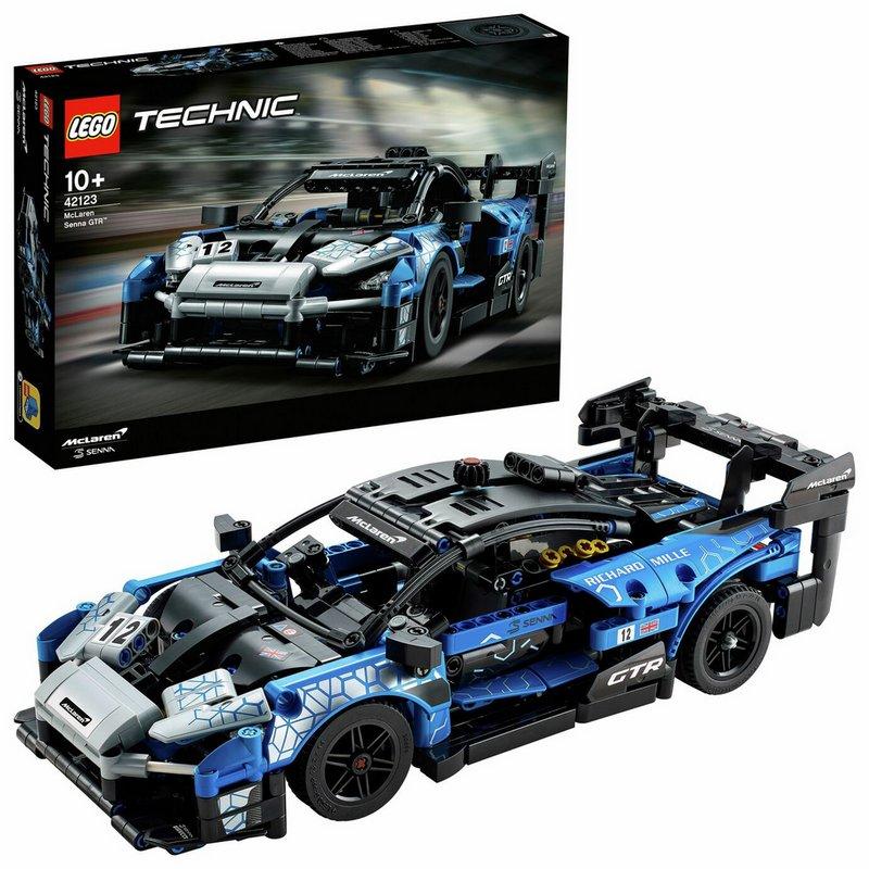 LEGO Technic McLaren Senna GTR Toy Car 42123 from Argos