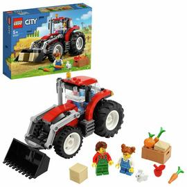 LEGO City Great Vehicles Tractor Toy and Farm Set 60287