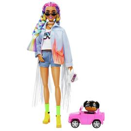 Barbie Extra Rainbow Braids Doll