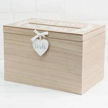 Love Story Wedding Card Box
