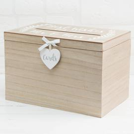 Love Story Wedding Card Box