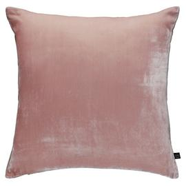 Habitat Regency Velvet Cushion - Dusty Pink