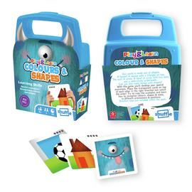 Shuffle Play and Learn Colours and Shapes Card Game