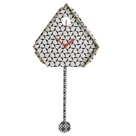 Habitat Miu Patterned Cuckoo Wall Clock