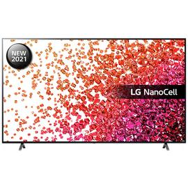 LG 75 Inch 75NANO756PA UHD NanoCell HDR Freeview TV