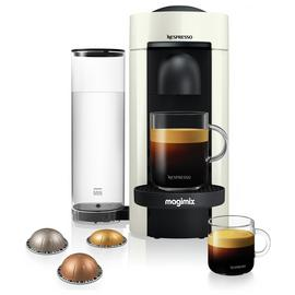 Magimix Nespresso Vertuo Plus Pod Coffee Machine - White