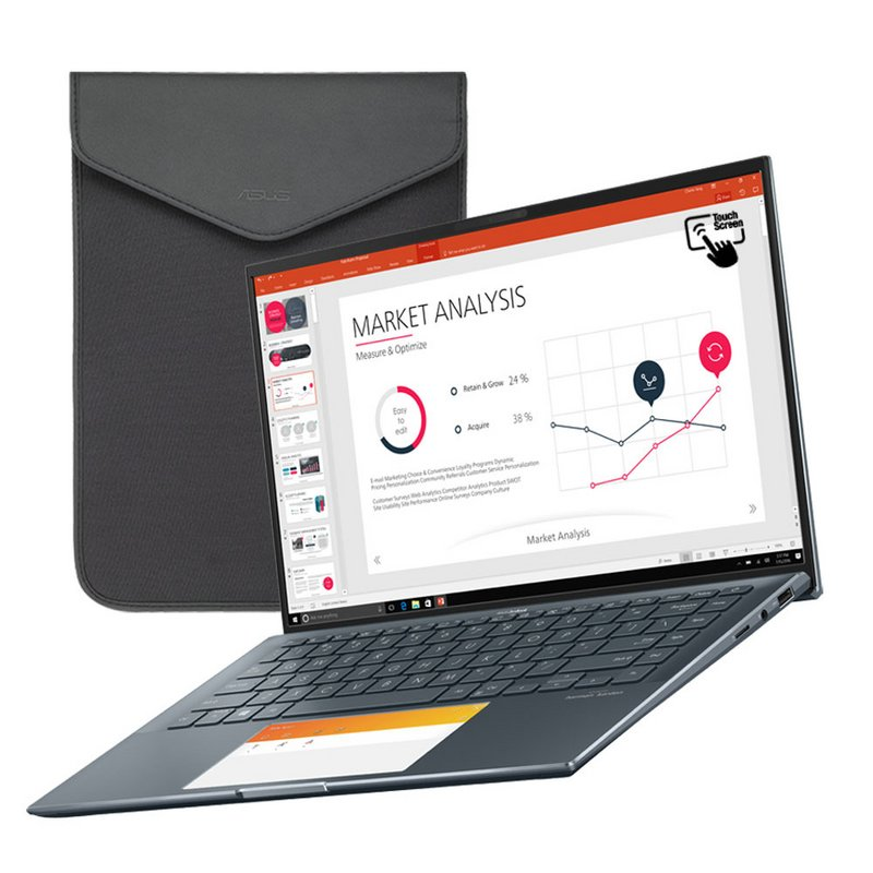 ASUS ZenBook 14 UX435 14in i7 16GB 512GB 32GB MX450 Laptop from Argos