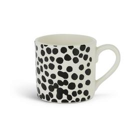 Habitat Mallory Set of 4 Mugs - Black Spots