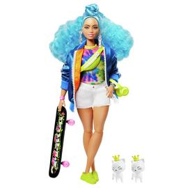 Barbie Extra Blue Curls Doll
