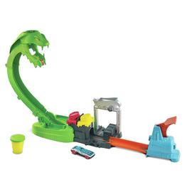 Hot Wheels Toxic Snake Strike Playset