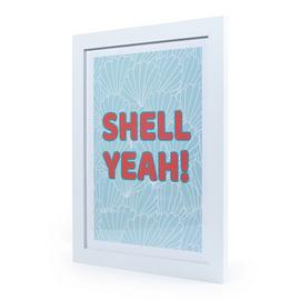"The Art Group ""Shell Yeah"" Framed Print Wall Art"